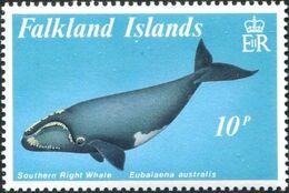 Falkland Islands 1989 Whales a