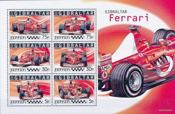 Gibraltar 2004 Ferrari Formula 1 Cars k