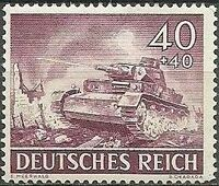 Germany-Third Reich 1943 Armed Forces and Heroes Day k