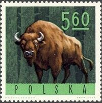 Poland 1965 Forest Animals h