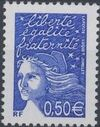 France 2002 Definitive Issue - Marianne de Luquet g