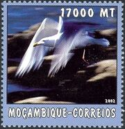 Mozambique 2002 The World of the Sea - Sea Birds 2 e