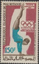 Mauritania 1969 19th Olympic Games, Mexico City Gold medal winners c