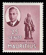 Mauritius 1950 Definitives i