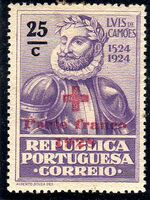 Portugal 1928 Red Cross - 400th Birth Anniversary of Camões c