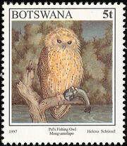 Botswana 1997 Birds a