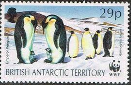 British Antarctic Territory 1992 WWF Seals and Penguins d