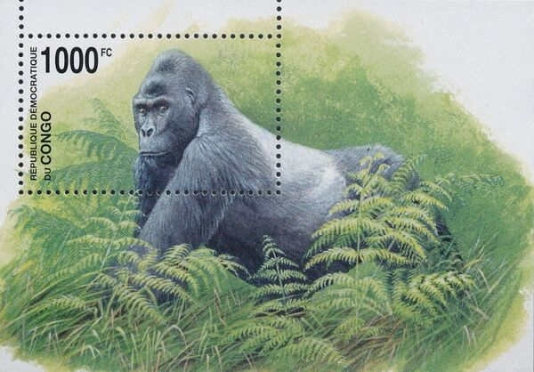 Congo, Democratic Republic of 2002 WWF Gorillas e