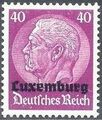 German Occupation-Luxembourg 1940 Stamps of Germany (1933-1936) Overprinted in Black l.jpg