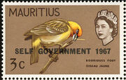Mauritius 1967 Self-Government Overprints b