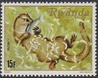 Rwanda 1981 Carnivorous Animals f