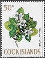 Aitutaki 1972 Flowers from Cook Islands Overprinted AITUTAKI i.jpg