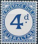 Gibraltar 1956 Postage Due Stamps c