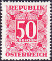 Austria 1949 Postage Due Stamps - Square frame with digit (1st Group) h.jpg