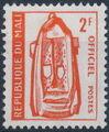 Mali 1961 Dogon Mask (Official Stamps) b.jpg