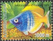 Azerbaijan 2002 Aquarian Fishes e