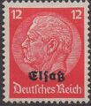 German Occupation-Alsace 1940 Stamps of Germany (1933-1936) Overprinted in Black g.jpg