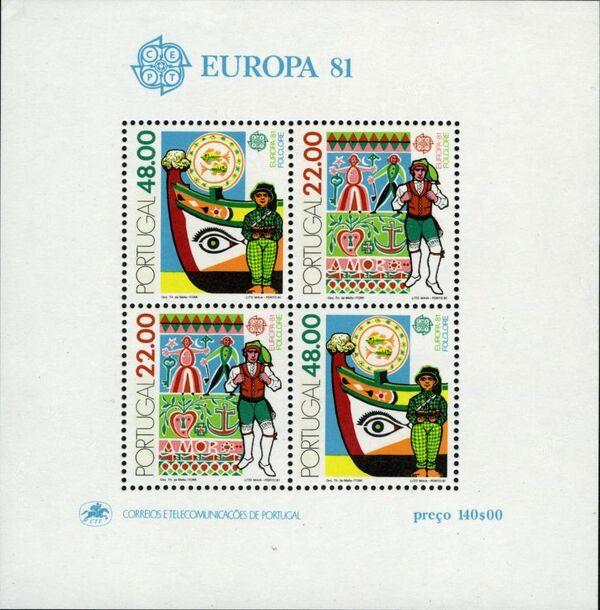 Portugal 1981 Europa h