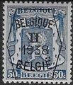 Belgium 1938 Coat of Arms - Precancel (2nd Group) f.jpg