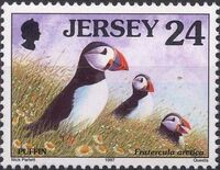 Jersey 1997 Seabirds and waders e