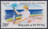 Wallis and Futuna 1979 Tuna tagging by South Pacific Commission b