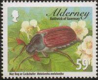 Alderney 2013 Alderney Beetles d