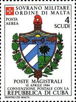 Sovereign Military Order of Malta 1986 Agreements Concluded by The Postal k