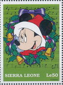 Sierra Leone 1997 Disney Christmas Stamps l