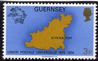 Guernsey 1974 U.P.U. b