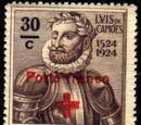 Portugal 1929 Red Cross - 400th Birth Anniversary of Camões