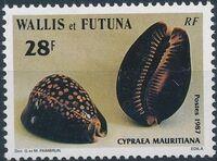 Wallis and Futuna 1987 Sea Shells c