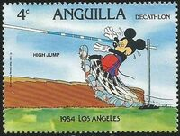 Anguilla 1984 Olympic Games Los Angeles d