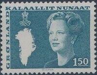 Greenland 1982 Queen Margrethe II a