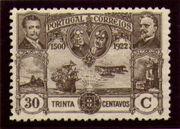 Portugal 1923 First flight Lisbon Brazil j