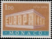 Monaco 1969 Europa c