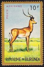 Burundi 1964 Animals c