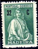 Madeira 1929 Ceres (London Issue) i