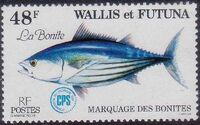 Wallis and Futuna 1979 Tuna tagging by South Pacific Commission f
