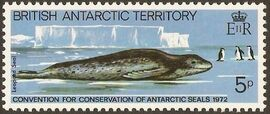 British Antarctic Territory 1982 10th Anniversary of Convention for Conservation of Antarctic Seals a