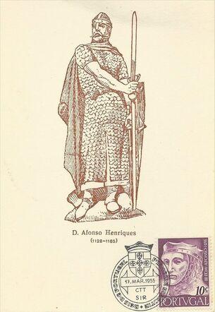 Portugal 1955 Portuguese Kings u