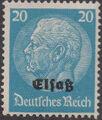 German Occupation-Alsace 1940 Stamps of Germany (1933-1936) Overprinted in Black i.jpg