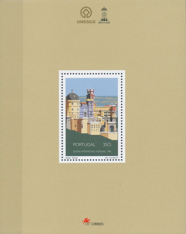Portugal 1997 UNESCO - Environmental and Cultural Heritage of Man - Sintra b