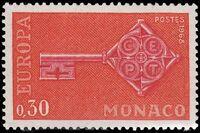 Monaco 1968 Europa a
