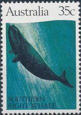 Australia 1982 Whales b