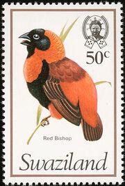 Swaziland 1976 Birds m