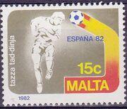 Malta 1982 F.I.F.A. World Cup - Spain c