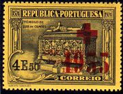 Portugal 1933 Red Cross - 400th Birth Anniversary of Camões e