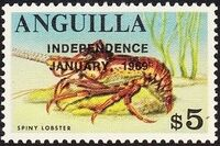Anguilla 1969 Independence o