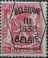 Belgium 1938 Coat of Arms - Precancel (3rd Group) c.jpg