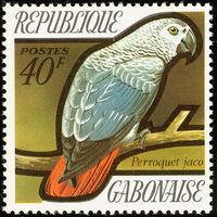 Gabon 1971 Birds b